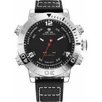 db61d75097514 Relógio Weide Anadigi Wh-6103 - Masculino-Preto+Prata