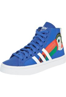 Tênis Adidas Originals + Farm Courtvantage Mid W Azul
