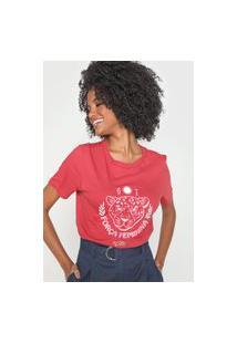 Camiseta Cantão Onça Vermelha