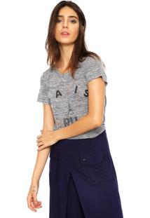 Camiseta Facinelli By Mooncity Darling Cinza