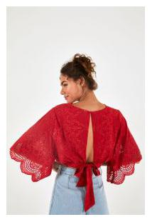 Blusa Cropped Laise