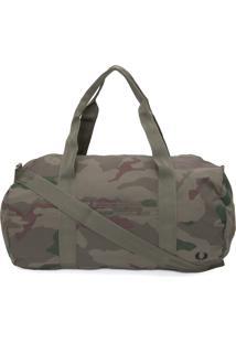 Bolsa Masculina Camouflage Barrel - Verde