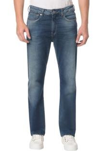 Calça Jeans Five Pocktes Relaxed Straigh Ckj 037 Relaxed Straight - Marinho - 38