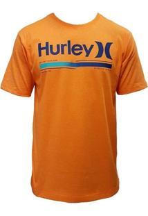Camiseta Hurley Alkaline Laranja - Masculino