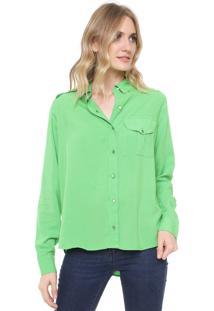 Camisa Lez A Lez Bolso Verde