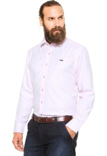 Camisa Mr. Kitsch Geométrica Rosa