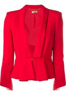 Liu Jo Peplum Jacket - Vermelho