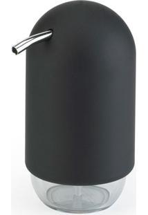 Porta Sabonete Líquido Touch Preto Umbra
