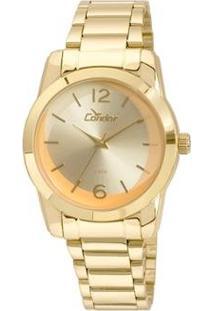 Relógio Condor Feminino Braceletes Co2035Kuc/4L - Dourado Co2035Kuc/4L - Feminino-Dourado