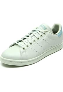 8b1519f3402 ... Tênis Couro Adidas Originals Stan Smith J Verde