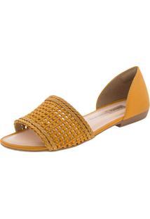 Sandália Feminina Rasteira Dakota - Z5471 Amarelo 34