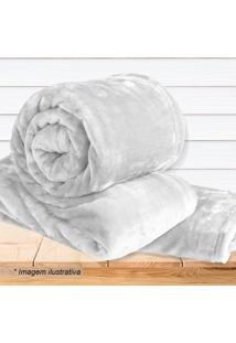 Cobertor Super Soft De Solteiro- Off White- 160X220Csultan