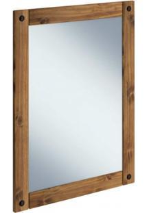 Espelho Com Moldura Rustic Line Móveis Mpo Cera Xangai