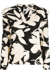 Calvin Klein Blusa Estampada - Neutro