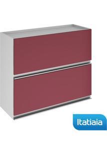 Módulo Cozinha Aéreo Clarice 2 Portas - Iph2-80 - Vermelho - Aço - Itatiaia