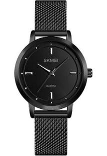 Relógio Feminino Skmei Analógico - Feminino-Preto