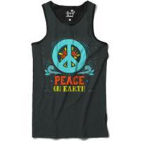 Regata Long Beach Simbolo Da Paz Florais Paz Na Terra Sublimada Masculina -  Masculino-Cinza c33c91ccd35