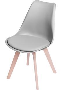 Cadeira Joly Com Almofada Fixa – Cinza