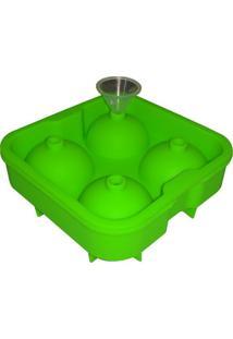 Forma De Silicone Para Bolo Tipo Palito Verde