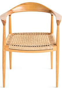 Cadeira The Chair Em Fibra Artesian Clássicos De Design By Hans J. Wegner