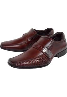 b1af73c3f Sapato Marrom Recorte masculino | Moda Sem Censura