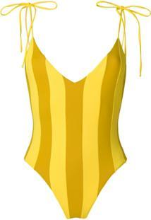 Sian Swimwear Maiô 'Zavannah' - Amarelo