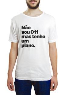 Camiseta Hunter Plano Branca