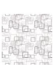 Papel De Parede Adesivo Geometria 2,70X0,57M