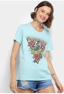 eb69c8632 Camiseta Colcci Rock Tour Feminina - Feminino