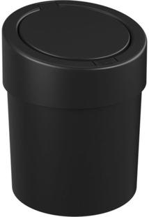 Lixeira De Plástico Automática Coza Preto 5L