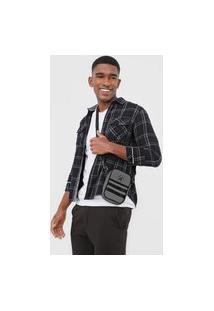 Bolsa Hurley Shoulder Bag Bp Shine Cinza