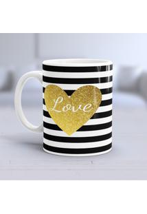Caneca Porcelana Wevans Love