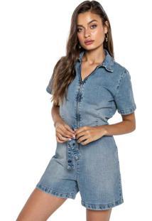 Macaquinho Azul Jeans Classic