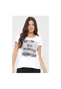 Blusa Calvin Klein Jeans No Bounds Branca