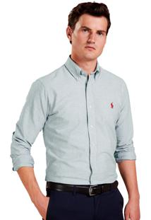 Camisa Ralph Lauren Oxford Slim Fit