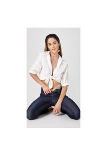 Calça Jeans Express Hot Skinny Cristiane Azul Marinho