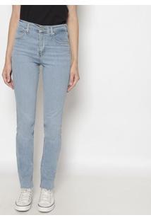 Jeans 724™ High Rise Straight- Azul Clarolevis