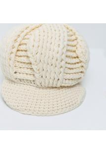 Chapéu Feminino Em Tricot