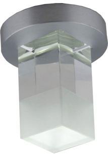 Spot Embutir Caixa Com 5 Unidades Quadrado 1W 3500K Luz Amarela Bella Iluminação Bivolt
