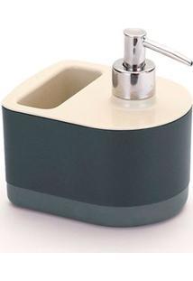 Dispenser Para Detergente E Bucha Black E White By Arthy