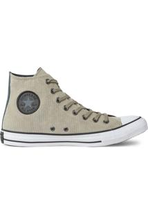 Tãªnis Converse All Star Chuck Taylor Hi Caqui Ct13460003 - Bege - Feminino - Dafiti