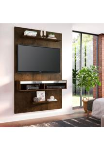 Painel Para Tv Até 50 Polegadas Valência Mocaccino Rústico