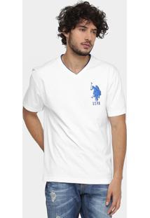 Camiseta U. S. Polo Assn Bordado - Masculino