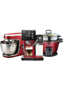 Kit Red Premium Ii Batedeira/Cafeteira/Panela Oster 220V