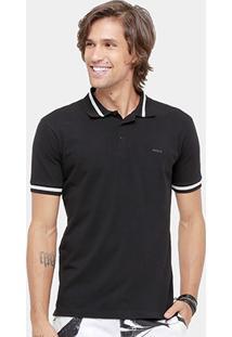 Camisa Polo Colcci Piquet Friso Grosso Masculina - Masculino