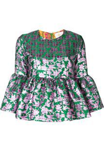 La Doublej Blusa 'Smurfette' - Verde