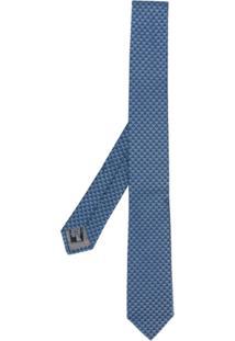 Emporio Armani Gravata De Seda - Azul
