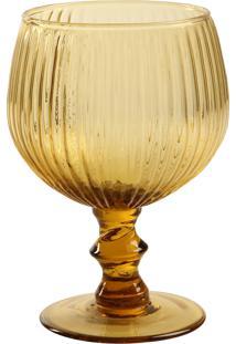 Taça De Vidro 450 Ml Kiwi Âmbar