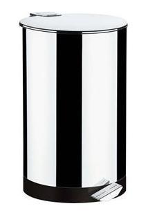 Lixeira Brinox Com Pedal 3041/201 Em Aço Inox - 50 L