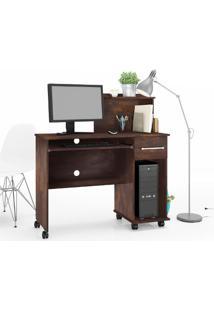 Escrivaninha Office Studio Lukaliam Móveis Noce